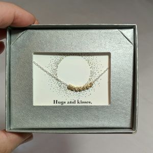 NIB Silver and Gold Colored 18 inch Necklace!
